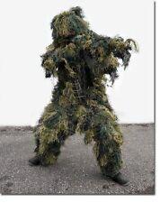 Tarnanzug Ghillie Suit antifire woodland,Paintball-NEU-