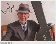 Leonard Cohen SIGNED Photo 1st Generation PRINT Ltd, No'd + Certificate / 3
