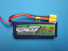 TURNIGY NANO-TECH 2200mAh 2S 25C 50C LIPO BATTERY 7.4V XT60 CAR TRUCK BUGGY QUAD