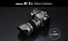 PENTAX K-1 Mark II Silver Edition Limited to 1,000 units worldwide