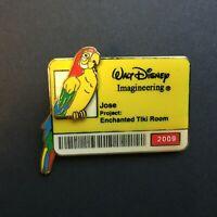 WDI ID Badge Series 2009 - DLR Enchanted Tiki Room Bird - Jose Disney Pin 68555