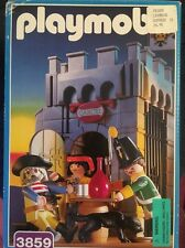 Playmobil Pirates Prison 3859 Used Lot With Box