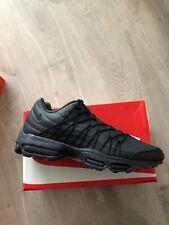 Nike Air Max 95 Ultra Se Trainers BNIB Mens  Uk Size 9 Black Colour genuine