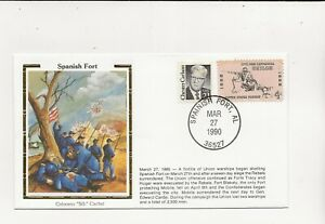 US Army Comm/FDC -  Civil War - Spanish Fort - 1990 (116)Z