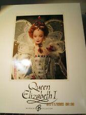 Queen Elizabeth the 1st Barbie limited Edition