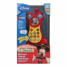 Disney Mickey Mouse Club House Mickey's Talking Cell Mobile Phone Education Toy
