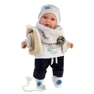 Llorens Enzo Crying Baby Boy Doll 42cm