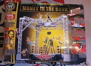 WWE Scale Jakks Pacific Money In The Bank Playset