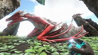 ark survival evolved XBOX PVE Level 185 Red Lightning Wyvern Clone