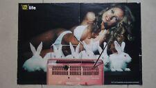 Poster, TV Total life, Fangemeinde zum Herausnehmen und Sammeln Vera an die Wand