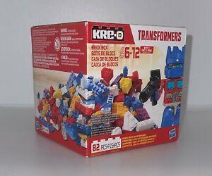 Kre-O Transformers Optimus Prime Brick Box 82 pc Building Blocks Set