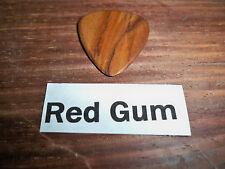 "Wood guitar pick ""Red Gum""  by RobinsonWood Picks"