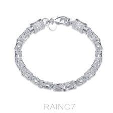 Dragon For 925Sterling H096 Silver Solid Men Bracelet Jewelry Fashion Women
