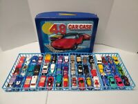 Hot Wheels Vintage Lot of 48 With Case 1970's,1980's,1990's With 1 Redline