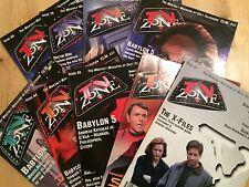 9 x TV Zone Magazines #77, #78, 79, #80, #81, #82, #83, #84, #85,