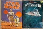 Star Wars & Return Of The Jedi Pop Up Books