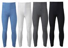 Mens Thermal Trousers Bottom Long Johns Warm Underwear Baselayer, S M L XL XXL