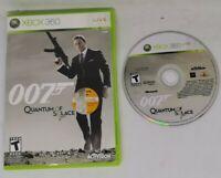 Xbox 360 Bond 007 Quantum of Solace Game  Good NTSC Version