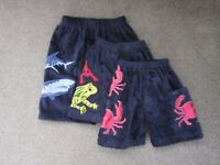 Boys Children's Towelling Shorts Knee Length Age 4/6/8/10/11/13yrs