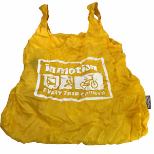 CHICO Bag Grocery Shopping Tote Bag, Reusable, Stuff Sack Collapsible Yellow