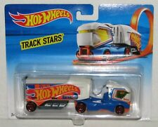 Aero Blast Hot Wheels Track Stars 1:64 Diecast Car Hauler NEW