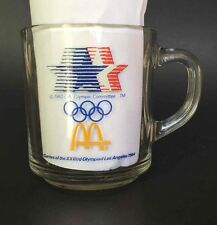 Vintage 1984 LOS ANGELES Olympics Cup McDONALDS Promotional Glass