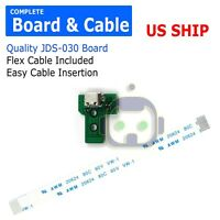 USB Charging Port Socket Board Controller JDS-030+12 Pin Cable for Sony PS4 A227