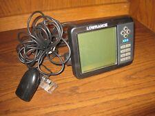 Lowrance X-65 Fish Finder Depth Sounding Sonar & HS-WSBK Wide Angle Transducer