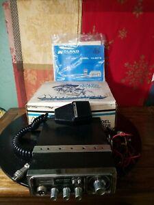 MIDLAND CB CONVOY BUDDY Model 13-857B Vintage CB Radio w/ Original Box