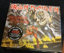 IRON MAIDEN The Number Of The Beast Ltd Edition CD Box Set + Eddie Figurine -NEW