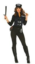 Ladies Sexy Swat Police woman Cop Police Offficer Uniform