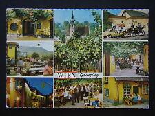 VIENNA GRINZING WORLD-FAMOUS WINE TAVERN 1979 POSTCARD