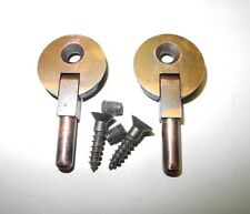New ListingVintage Singer Sewing Machine Cabinet Head Pin Hinges 1 Hole Copper Finish Nice