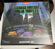 Teenage Mutant Ninja Turtles 90s Accessories Pack NECA Exclusive 7? TMNT 1:12