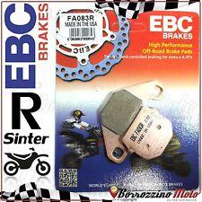 PASTIGLIE FRENO POSTERIORE SINTER EBC FA083R FACTORY HELIX 100 2004