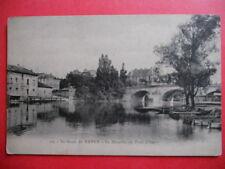 ESSEY-LÈS-NANCY  :  La Meurthe au Pont d'Essey.