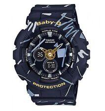 Casio Baby-G * BA120SC-1A Graffiti Design Black Anadigi Watch COD PayPal