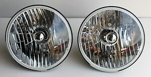 1941 42 1946 1947 48 1949 50 1953 Chevy TRUCK HALOGEN headlights NEW pair 12V CL
