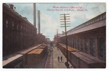 Altoona PA - MECHANIC OFFICE FOR RAILROAD - Postcard Depot