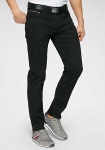 Tommy Hilfiger Straight-Jeans »Denton«, 595613 Schwarz Gr.31
