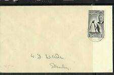 FALKLAND ISLANDS COVER (P2205B)  KGVI 1/- PENGUIN ON LOCAL COVER