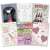 Wedding Anniversary Card - Our Your Husband Wife Special Couple Mum Dad Cards