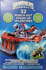 New Skylanders 32 Pack Pop-Up 3D Valentine's Day School Cards & Teacher Card