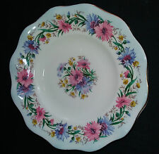 Vintage 1960s E Brain, Foley Bone China Side / Tea Plate Cornflower. Excellent