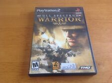 Full Spectrum Warrior  (Sony PlayStation 2, 2005) Complete VG