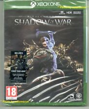Middle Earth Shadow Of War (inc. FORGE YOUR ARMY)  'New & Sealed' *XBOX ONE (1)*