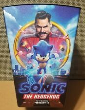 Sonic the Hedgehog movie popcorn bucket