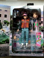 """NECA Back to the Future 2 Marty McFly Ultimate 7"""" Action Figure New In Stock"""