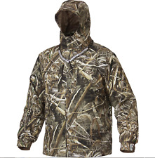 Drake Waterfowl Jacket DW2430 Max 5 EST Vented Waterproof Full Zip Max 5 Camo