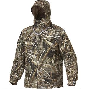 Drake Waterfowl Jacket DW2430 Max 5 EST Vented Waterproof Full Zip Max 5 Camo